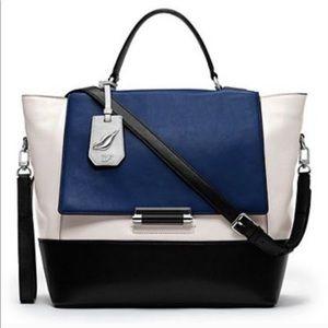 Diane Von Furstenberg DVF Tophandle leather